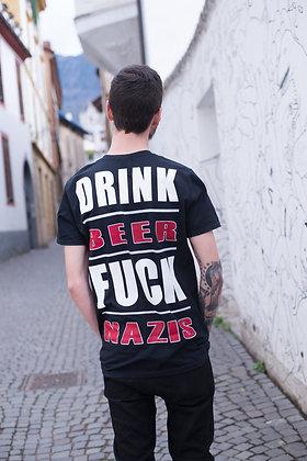 Drink Beer Fck Nzs - Shirt