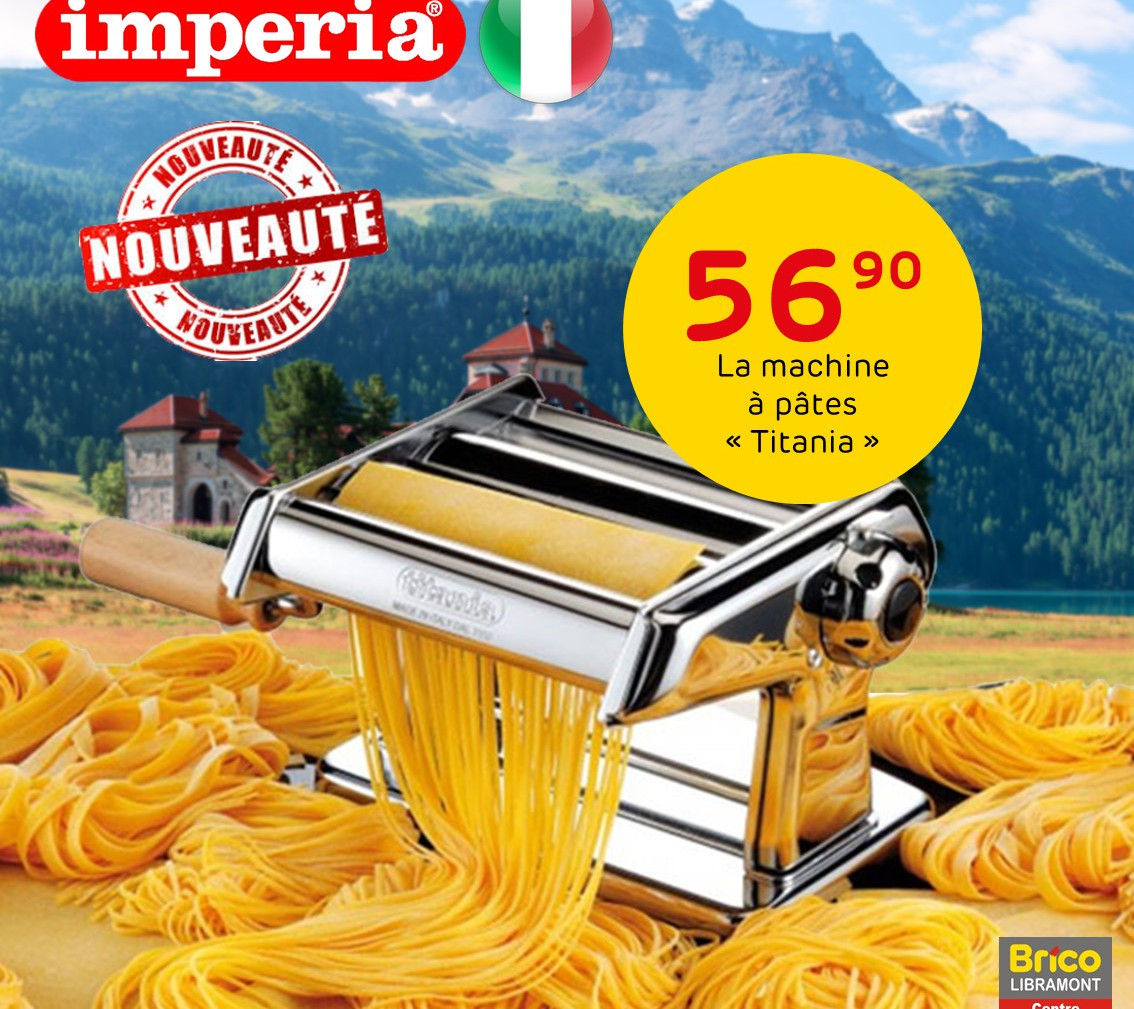Nouveau - La machine à pâtes importée directement d'Italie