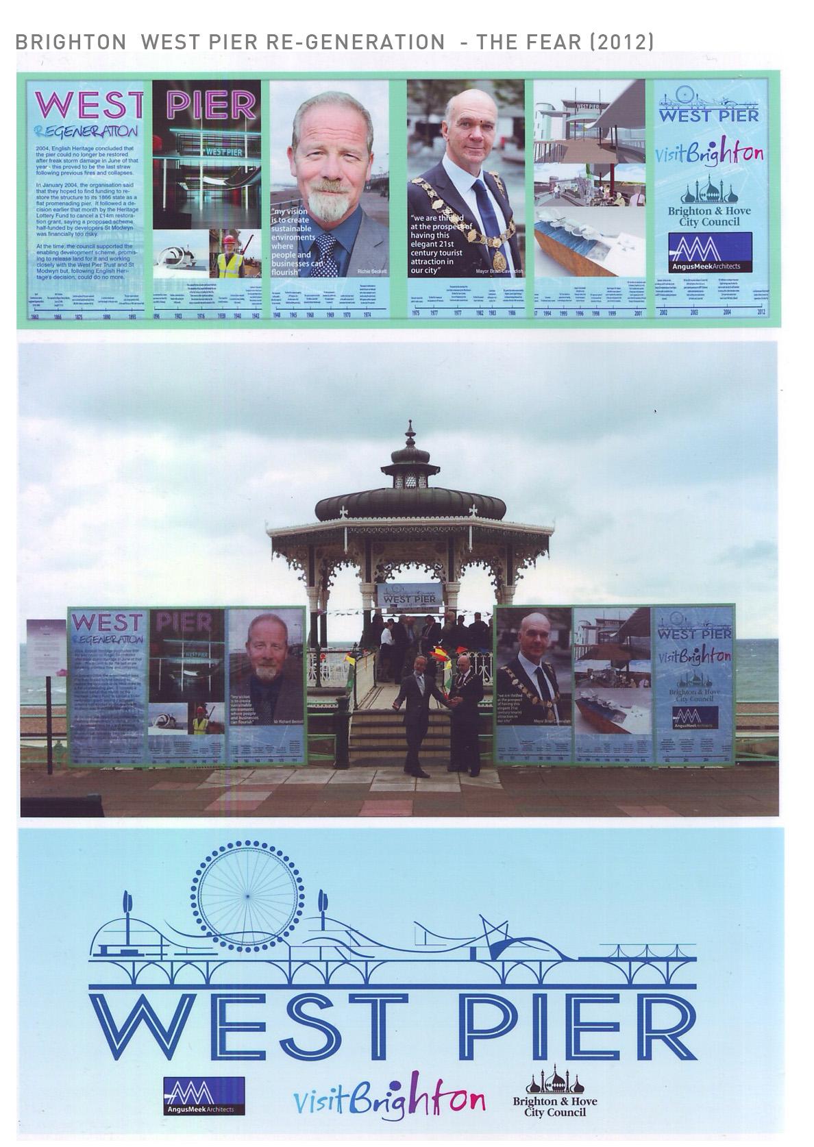 Brighton Pier Regeneration Hoarding