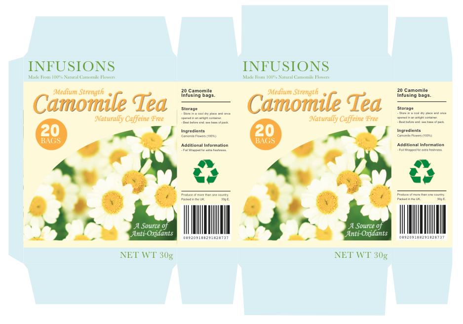 Camomile Tea Design