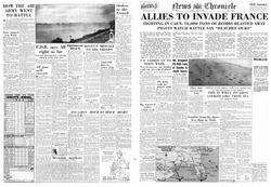 News Chronical - 1940's