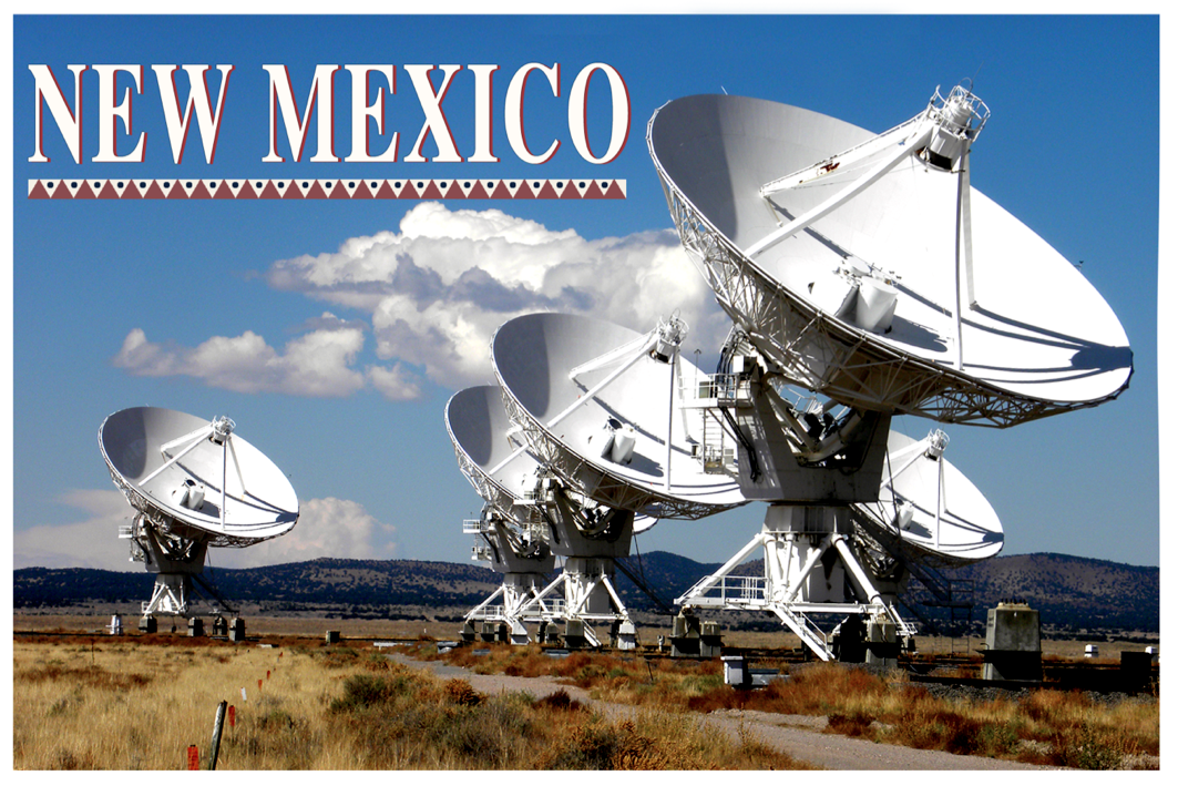New Mexico Postcard Design
