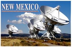 New Mexico Postcard Design