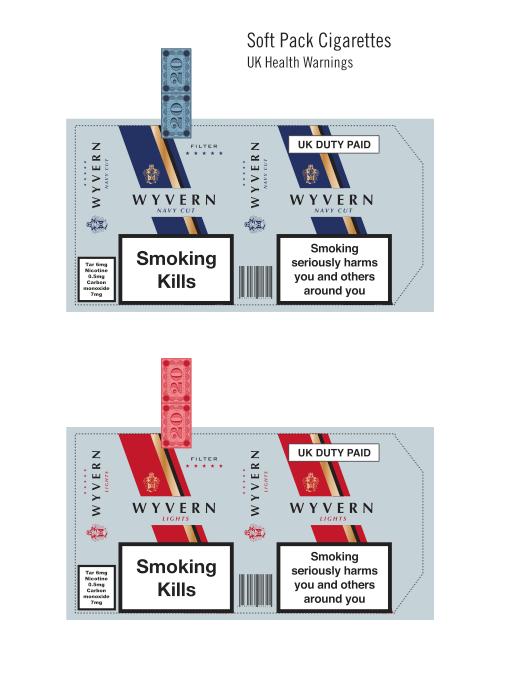 Modern Cigarette Box