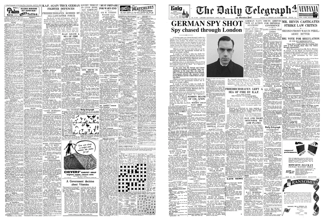 Daily Telegraph - 1940's