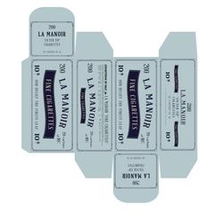 Period Cigarette Carton