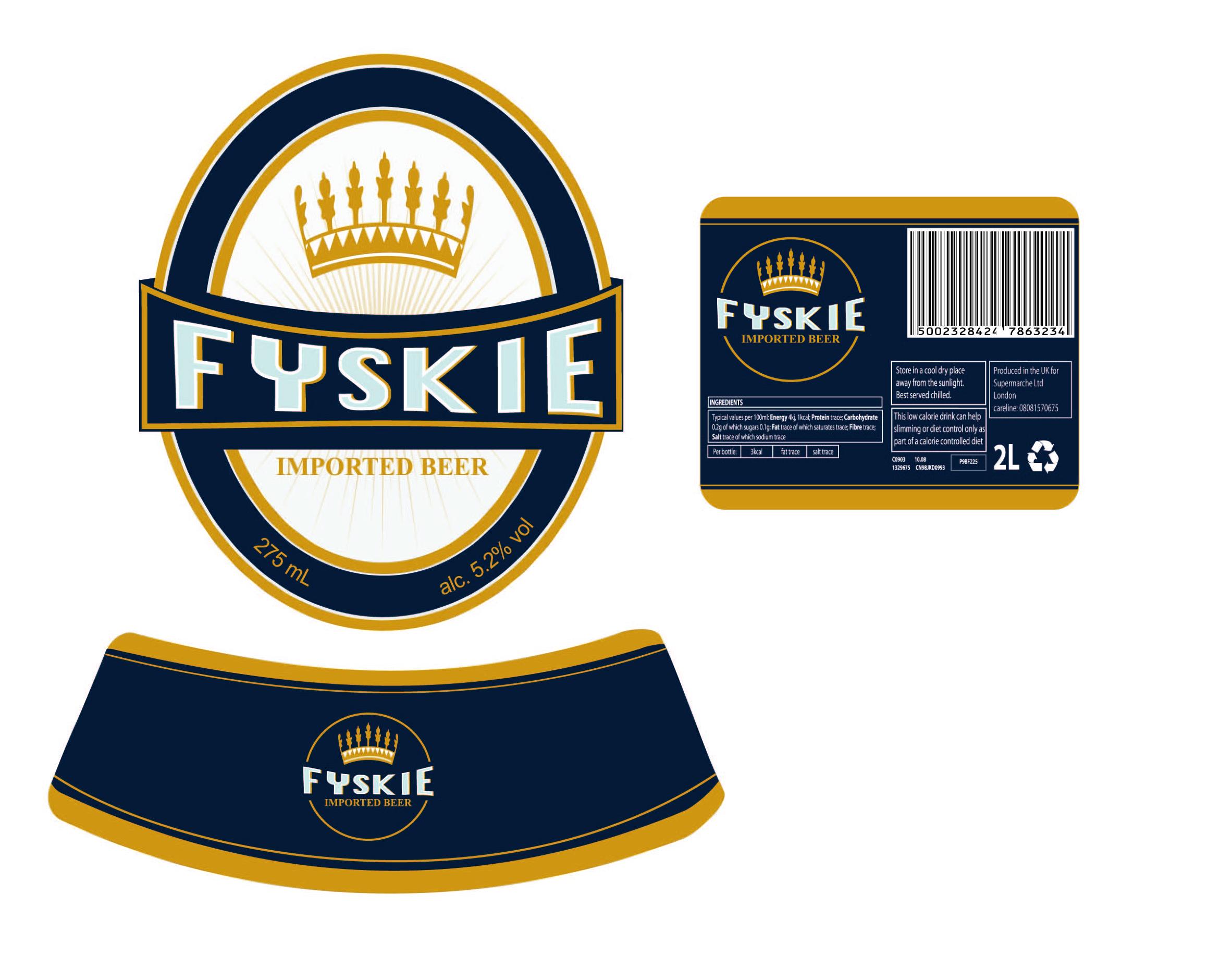 European Lager Label