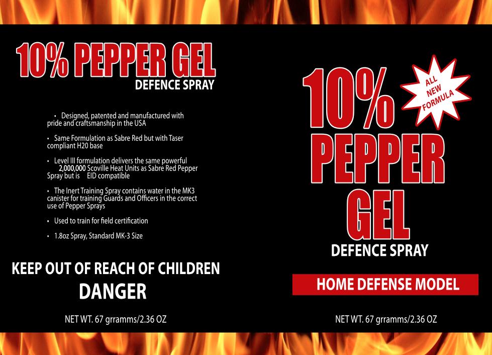 Pepper Spray Graphic