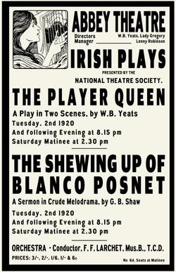 Irish Plays Poster
