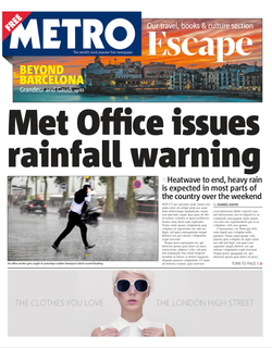Generic Metro Newspaper