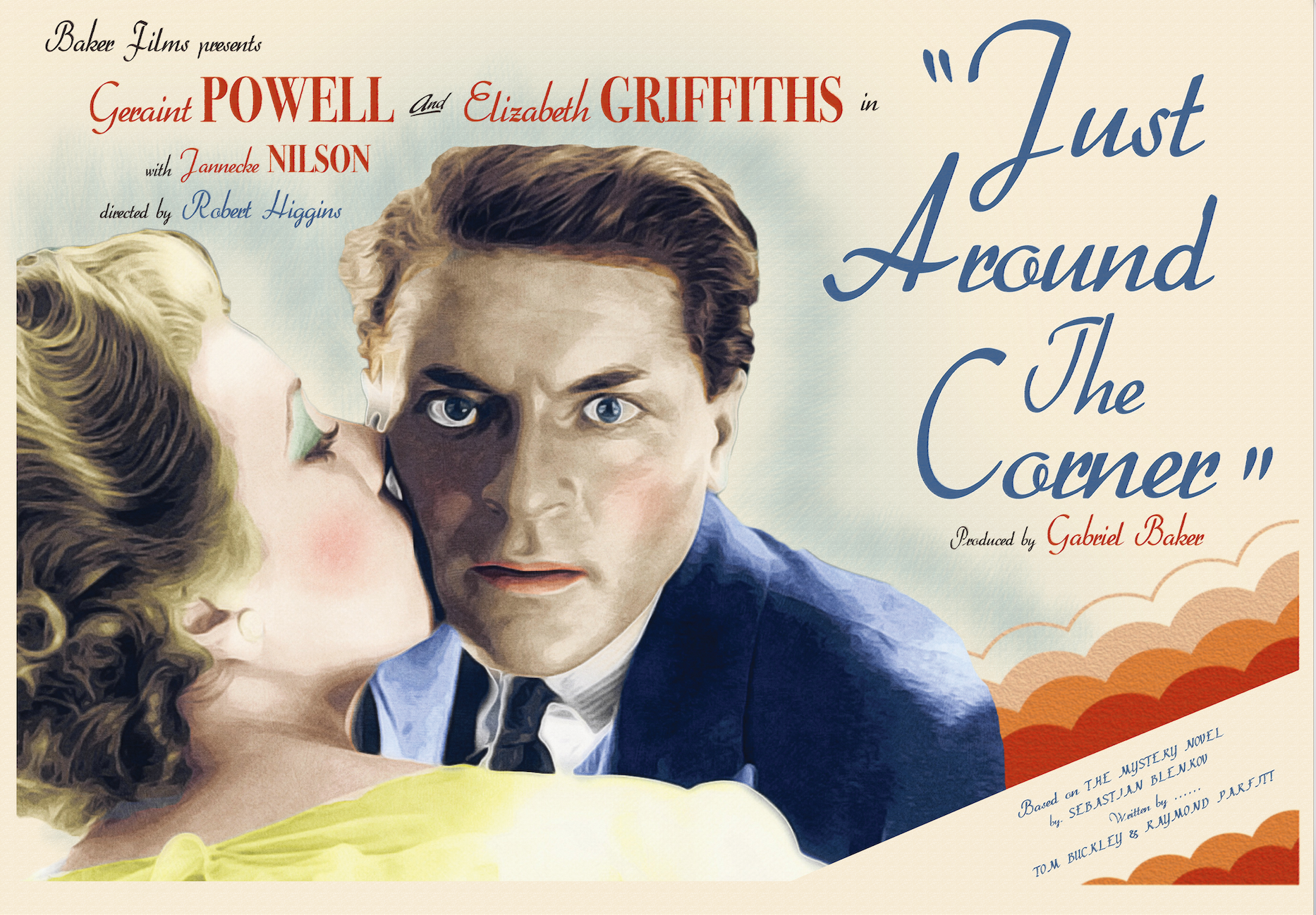 1940s Fictional Film Poster 8