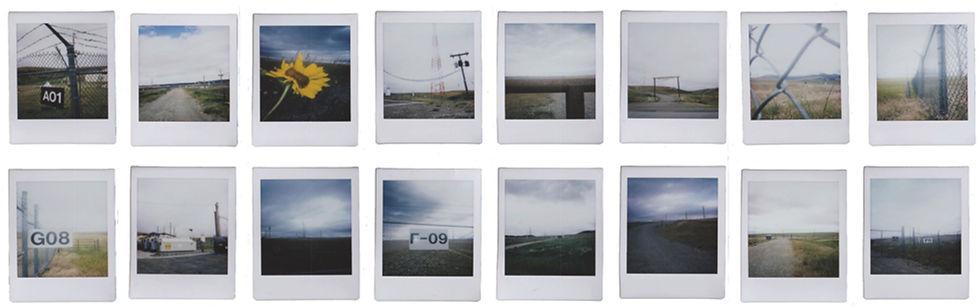 Montana Pastoral, Polaroids by Erin Wilkerson