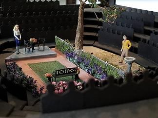 """""""Native Gardens"""" - Set design by Collette Pollard"""