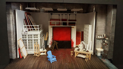 """""""Red"""" - Set Design by Todd Rosenthal"""
