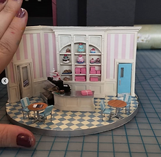 """The Cake"" Set design by Collette Pollard"
