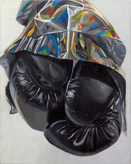 """Glory Grab"", 16"" x 20"", oil on canvas, 2019"