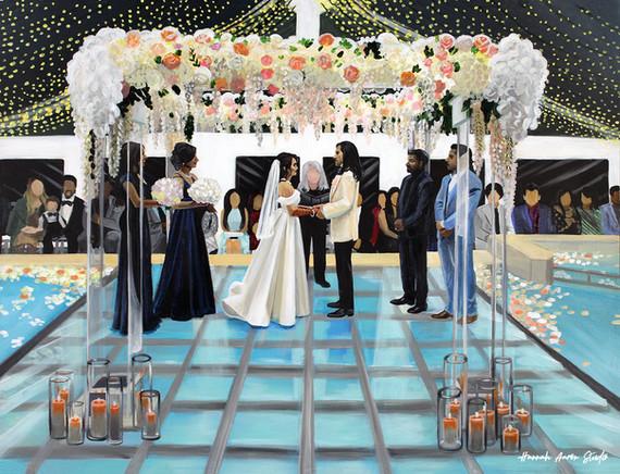 Zohra + Shazeb Ceremony