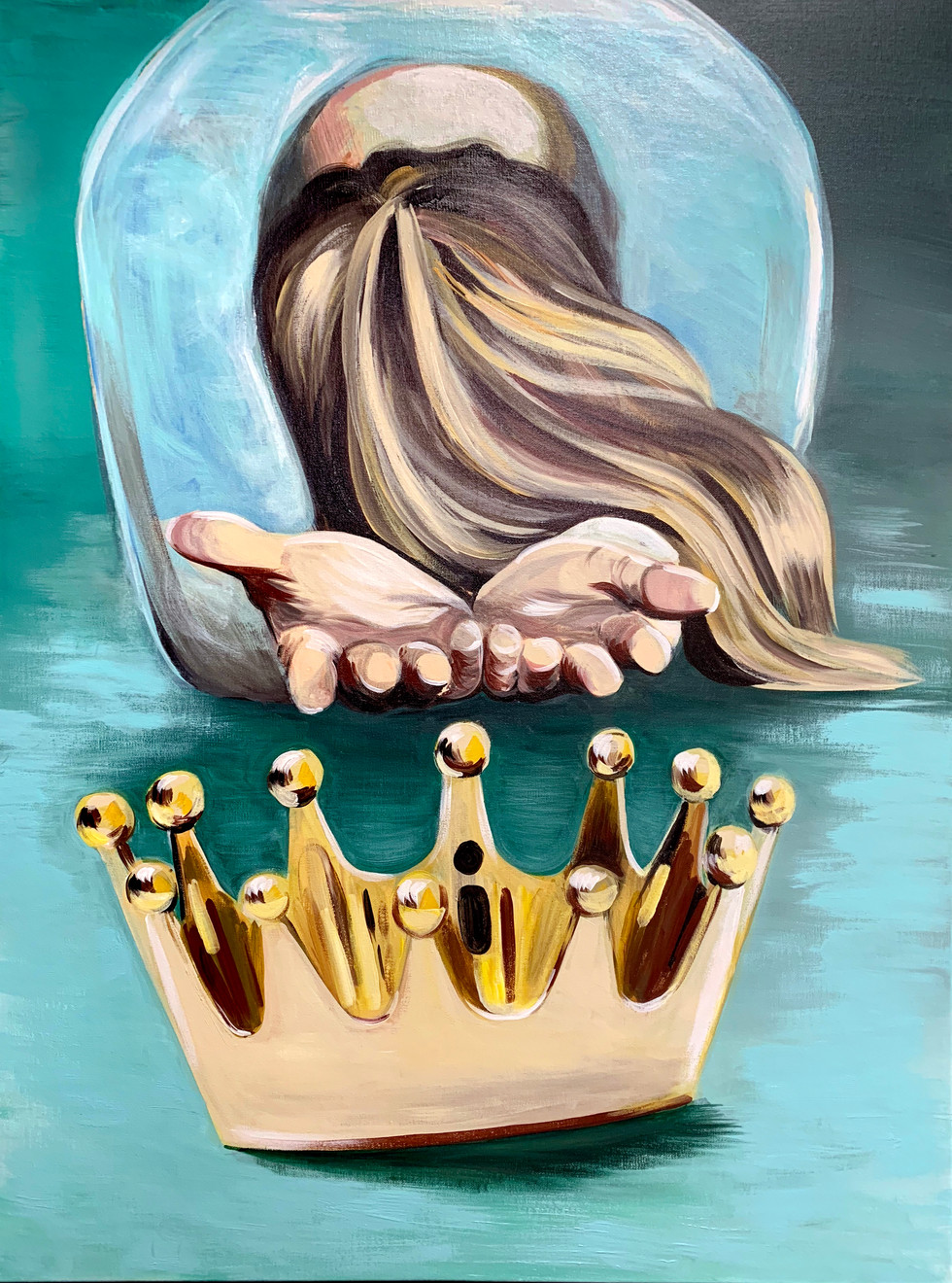 """Casting Down the Crown"""