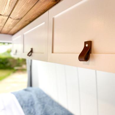 Overhead cupboards
