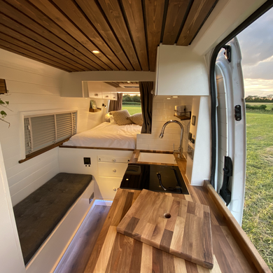 Kitchen and bench seat