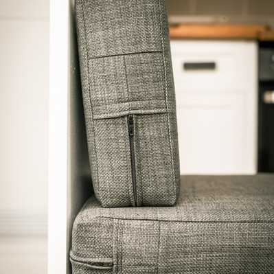 Washable bespoke cushions