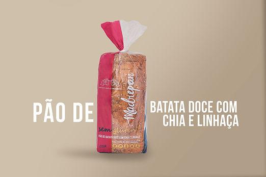 PAO DE BATATA DOCE COM CHIA E LINHACA co