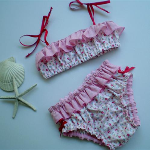 fairy floss pink bikini