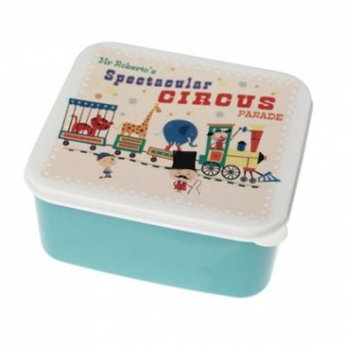 circus parade lunch box