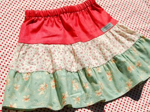 sookie tiered skirt
