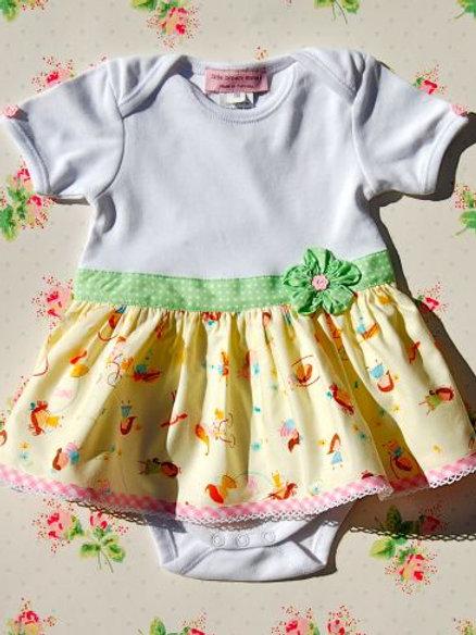 onesie dress - sweetheart