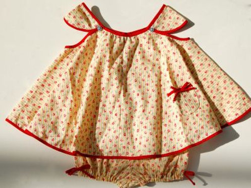twirling tracey dress and bloomers