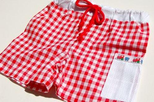 choo choo beach shorts