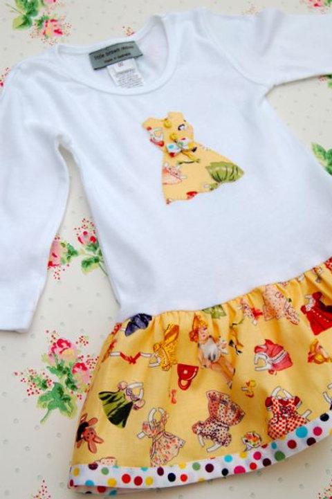 onesie dress - paperdolls