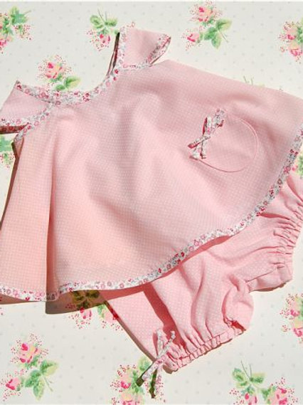 precious pattercake dress and bloomer set