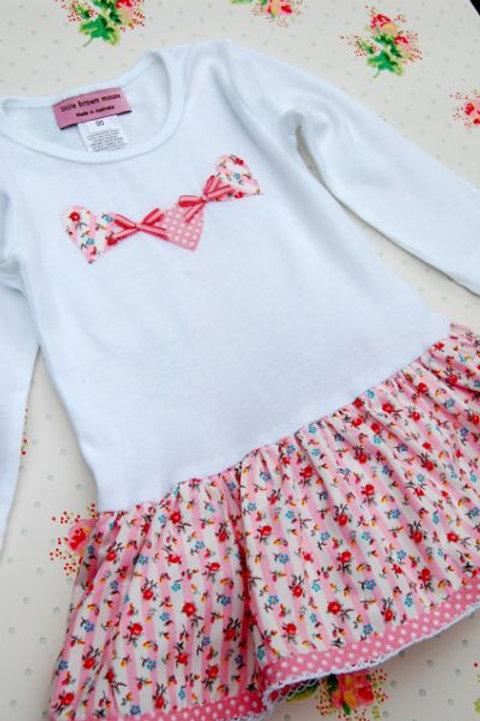 onesie dress - hearts