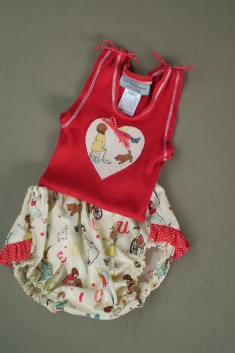 alfie alphabet frilly bloomers and single