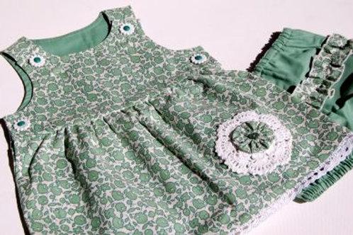 eddi dress and bloomer set