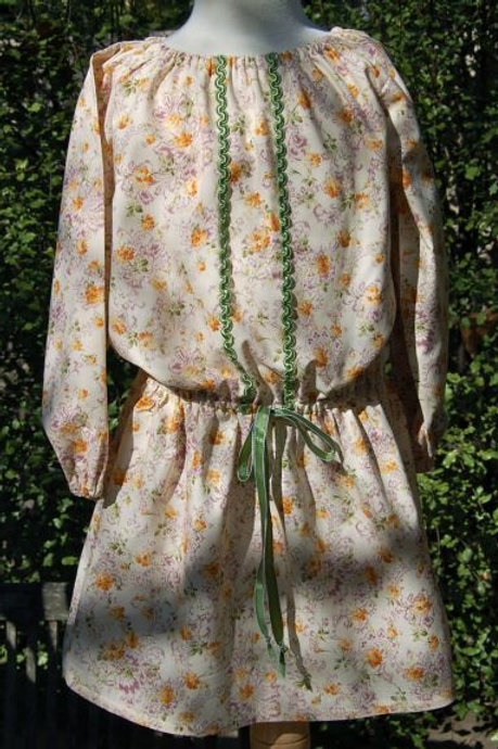 juliana peasant style dress