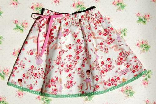 reversible skirt - garden dreaming