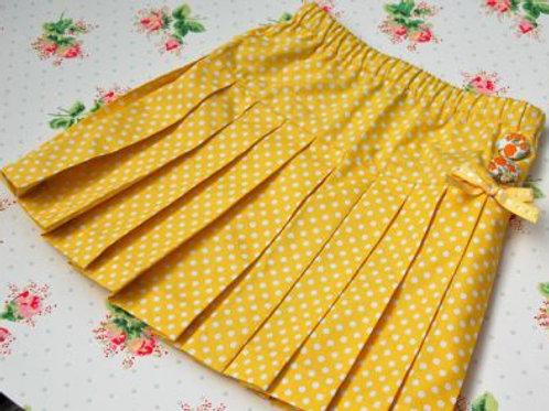betsy pleated skirt