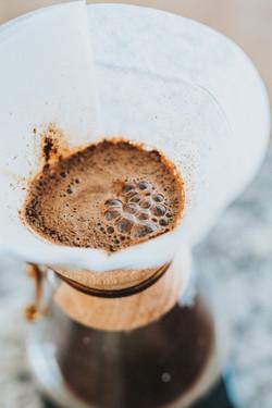 ろ過されたコーヒー