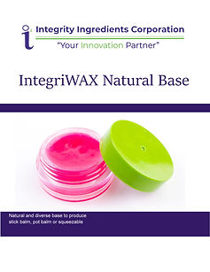 IntegriWAX Natural Base Product Brochure