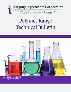 Polymer Range Technical Bulletin Brochur