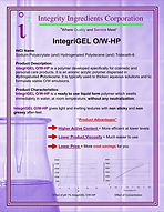IntegriGEL O/W HP
