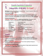 "IntegriGEL O/W MO ""2-11 pH"""
