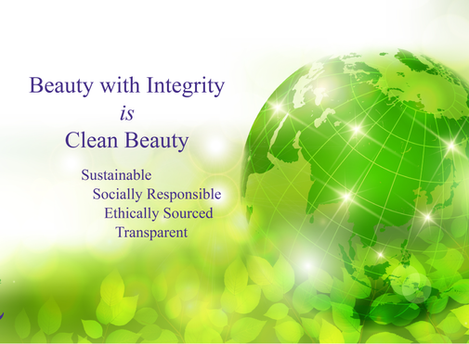 Beauty with Integrity is Clean Beauty