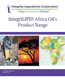 IntegriLIPID Africa Oil Brochure January