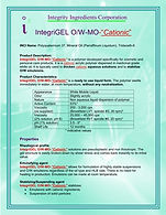 "IntegriGEL O/W MO ""Cationic"""