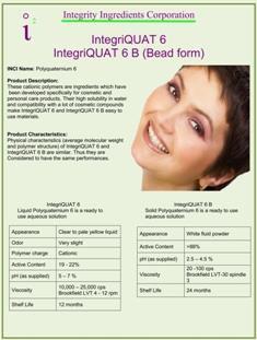 IntegriQUAT 6 Bead Form