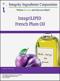 IntegriLIPID French Plum Oil Brochure